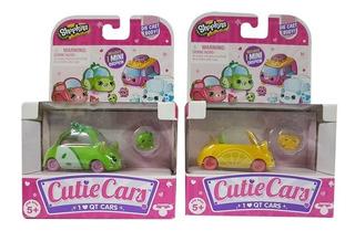 Shopkins Cutie Cars Autos Pack X1 Autos Con Diseños Original
