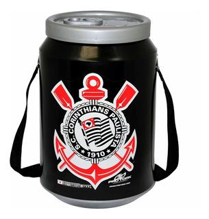 Cooler Térmico Pro Tork 24 Latas 350ml Corinthians Preto