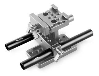 Smallrig 2pc 15 Mm Negro Barra De Aluminio Aleación Interior