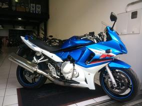 Suzuki Gsx 650f Azul 2011