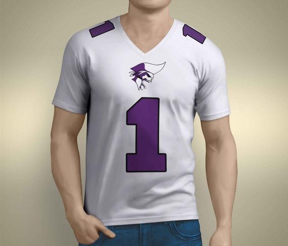 Camiseta Dry Fit Fa Brasil Piratas Da Serra Lobo Branco