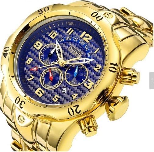 Relógio Masculino Temeite Lux Pesado Original Pronta Entrega