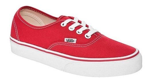 Tenis Vans Authentic Rojo Tallas Del #26 Al #29 Hombre