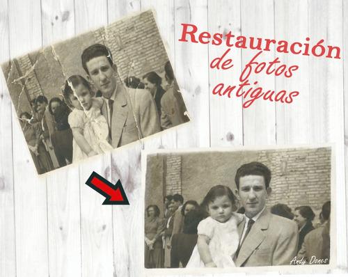 Restauracion Digital De Fotos Antiguas Dañadas