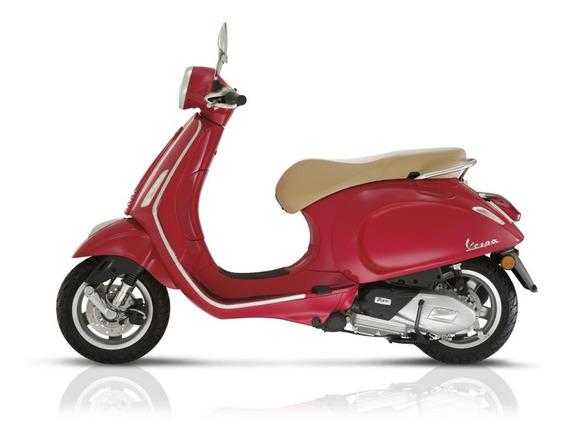 Vespa Primavera Escala 1-12 Moto Roja Newray Playking