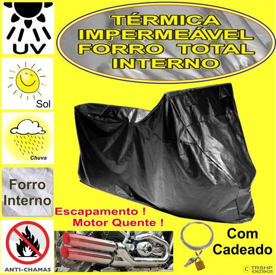 Capa Cobrir Moto Kawasaki Vulcan 1500 (c/cadeado) * Termica