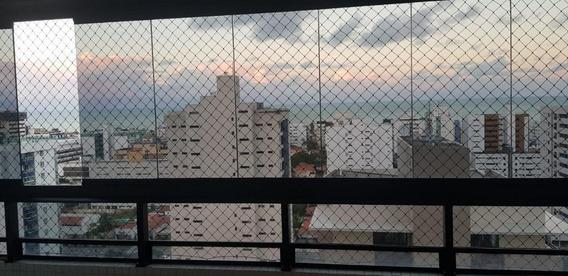 Apartamento Com 4 Dormitórios À Venda, 180 M² Por R$ 1.100.000 - Tambaú - João Pessoa/pb - Ap2536