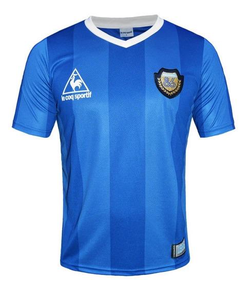 Camiseta Alternativa Argentina 86 Le Coq Sportif 30 Años