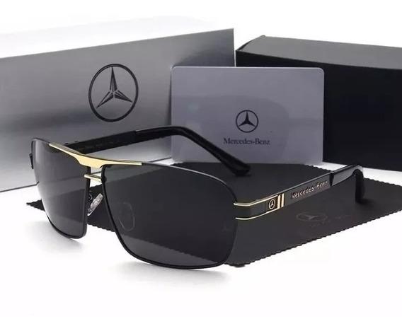 Óculos Sol Mercedes- Benz Polarizado Coleção Mb 722 + Estojo