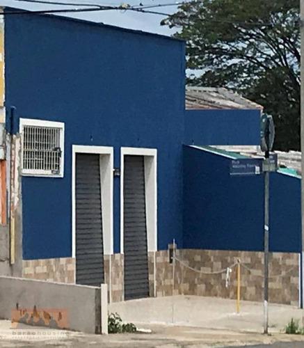 Imagem 1 de 4 de Salão Para Alugar, 48 M² Por R$ 2.000,00/mês - Vila Santa Isabel - Campinas/sp - Sl0028