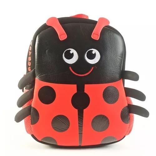 Mochila Kooshi Neoprene Lady Bug O Abeja 10 Wabro