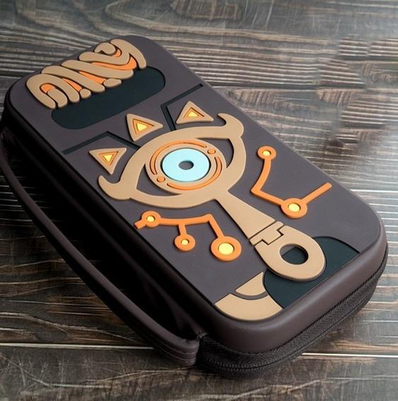 Bolsa Case Travel Zelda Para Nintendo Switch E Porta Jogos