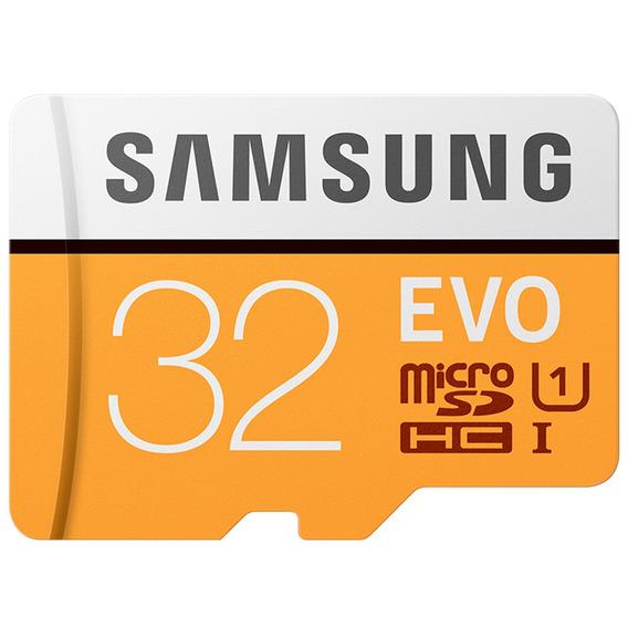 Samsung 32gb Evo Micro Sdhc Até 48mb / S Classe 10 Cartão Me
