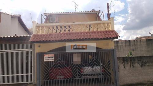 Sobrado Residencial À Venda, Jardim Las Vegas, Santo André. - So1444