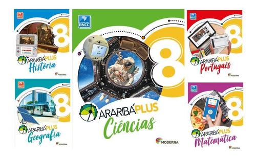 Kit Livros Escolares: Araribá Plus - 8º Ano-serie - Ed5
