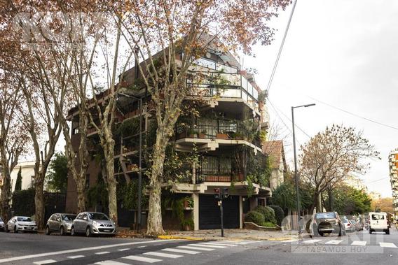 Alquiler Piso Tipo Casa 4 Ambientes C/terraza, Baulera Y 3 Cocheras En Esquina En Belgrano R