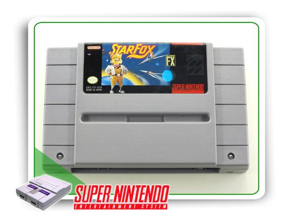 Starfox Original Snes Super Nintendo