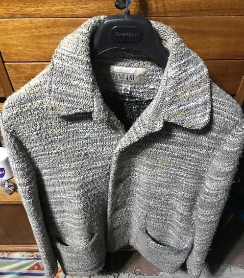 Saco Tascani Tipo Cardigan Original