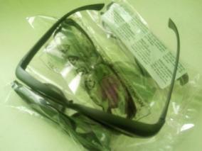 4 Óculos 3d Polarizado P/ Cinemas Real D E Tvs Philips E Lg