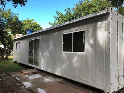 Container Moradia Com Dois Quartos, Sala/cozinha, Banheiro