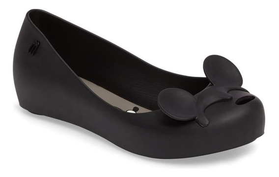Zapatos Flats Melissa Minnie Mouse Negro Talla #24mx Nuevos