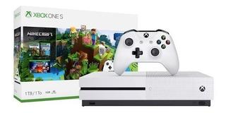 Nuevo Xbox One S 500 Gb Bundle Minecraft Creators Y Control Haz Tu Tv Smart. Netflix, Spotify Y Mas Oferta