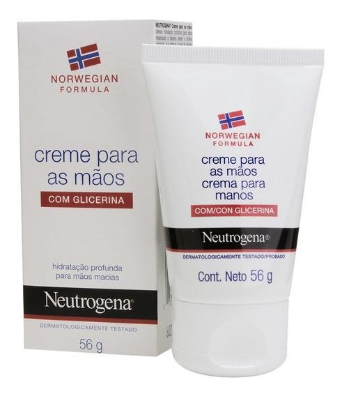 Hidratante Para Mãos Neutrogena Norwegian Com Glicerina 56g