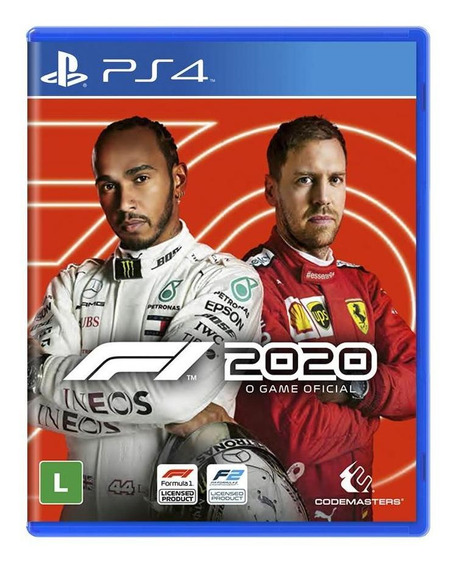 F1 2020 Formula 1 Ps4 Mídia Física Novo Lacrado