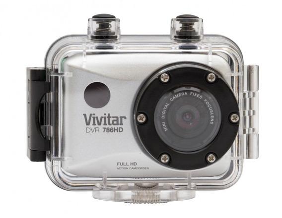 Câmera Filmadora De Ação Full Hd Com Caixa Estanque Dvr786h