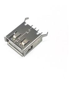 Kit 5 Conector Usb Fêmea Vertical 4 Pino Yxsmdz2396