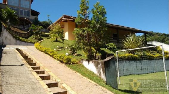Chácara Para Venda Em Atibaia, Chácaras Pedra Grande, 3 Dormitórios, 1 Suíte, 3 Banheiros, 4 Vagas - Pv 584
