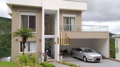 Casa Com 4 Suítes À Venda, 401m² Por R$ 2.700.000 - Alpha Sítio - Santana De Parnaíba/sp - Ca2781