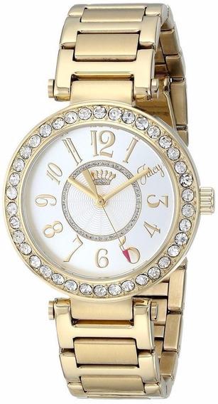 Reloj Juicy Couture Luxe Acero Tono Dorado Mujer 1901151