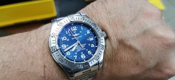 Relógio Breitling Superocean Completo Automatico