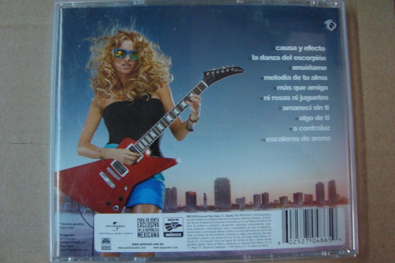 Paulina Rubio Cd Gran City Pop