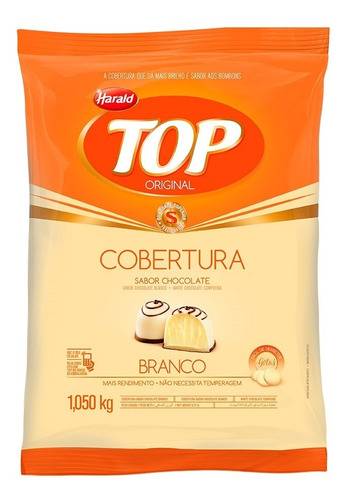 Chocolate En Gotas Top Harald Blanco 1kg