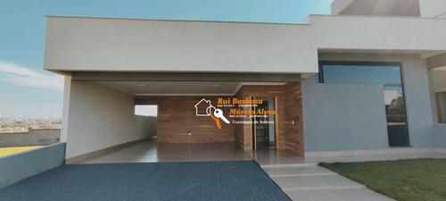 Imagem 1 de 30 de Casa Em Condomínio Com 3 Dormitórios Sendo 1 Suíte À Venda, 146 M² Por R$ 640.000 - Condomínio Residencial Santa Regina 2 - Londrina/pr - Ca0081