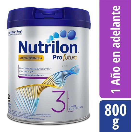 Nutrilon Profutura 3 Fórmula Lactéa Infantil Polvo X 800 Gr