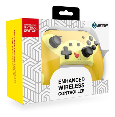 Imagen 1 de 7 de Control Inalámbrico Pikachu - Nintendo Switch