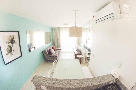Apartamento Com 1 Dormitório Para Alugar, 39 M² Por R$ 250,00/dia - Cumbuco - Caucaia/ce - Ap1083
