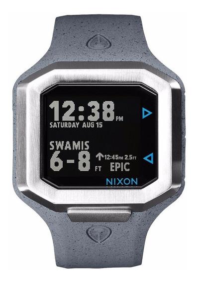 Relógio Nixon Ultratide Cinza