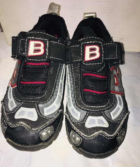 Zapatos Deportivos Niño Talla 27 Usados
