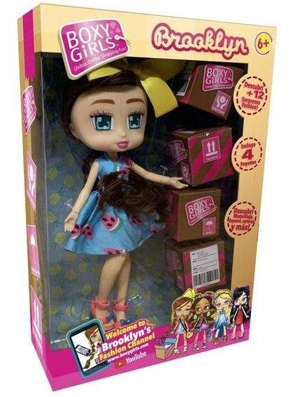 Muñeca Boxy Girl Brooklyn 5968 Idea Tank