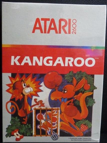 Kangaroo Lacrado Para Atari, Raridade. Frete Gratuito.