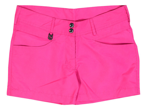 Short Salomon Amazon Niños Hot Pink