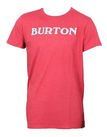 Remera Manga Corta Burton Big Logo