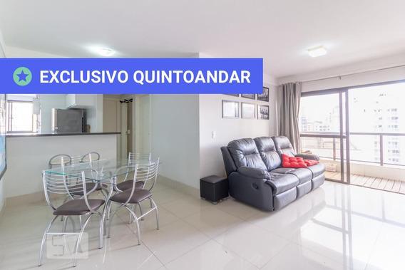 Apartamento No 13º Andar Mobiliado Com 2 Dormitórios E 1 Garagem - Id: 892946512 - 246512