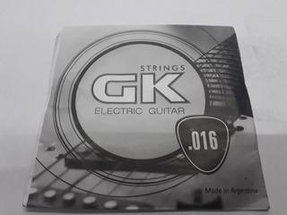 Cuerda Suelta Para Electrica Gk Tercera 016 - Los Chiquibum