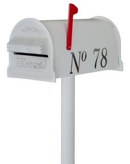 Caixa Correio Condomínio Americana Pedestal + Numero Brinde!