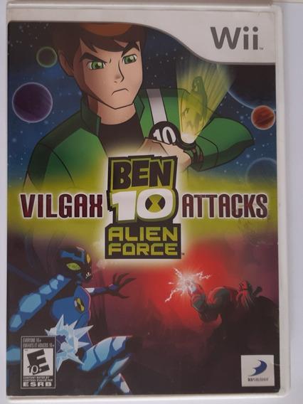 Ben 10 Alien Force Vilgax Attacks Wii Mídia Física